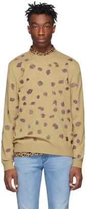 Paul Smith Tan Embroidered Sweater