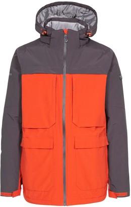 Trespass Heathrack Rain Jacket - Red/Grey
