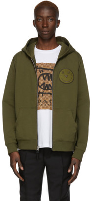 Coach 1941 Green Yeti Out Edition Rexy Zip Hoodie
