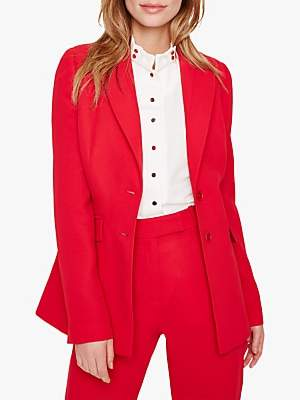Damsel in a Dress City Suit Jacket, Red
