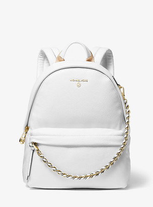Michael Kors Slater Medium Pebbled Leather Backpack