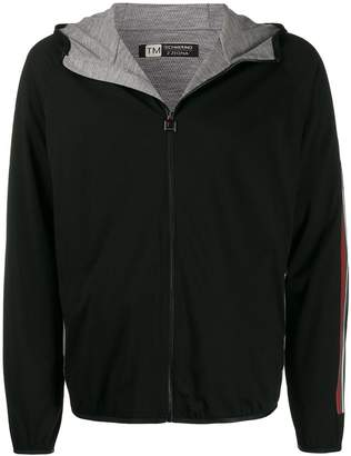 hooded active jacket