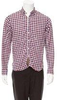 Billy Reid Slim Fit Button-Up Shirt