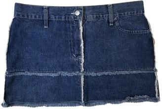 Jean Paul Gaultier Blue Denim - Jeans Skirts