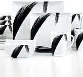 222 Fifth Dinnerware, Bristle 16 Piece Set