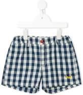 Bobo Choses checked elasticated shorts