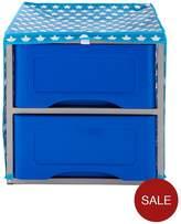 Ideal Kids 2 Drawer Storage Unit