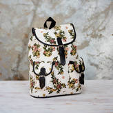 Paper High Paital Canvas Backpack