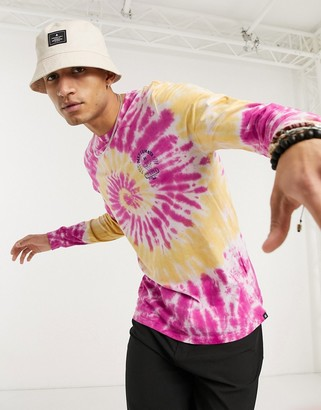 Hurley Matsumoto Shave Ice long sleeved t-shirt in multi