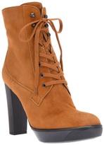 Hogan chunky heel ankle boot