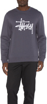 Stussy Chain Stitch Applique Crew