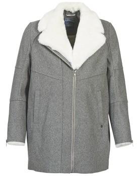 Kaporal CAZAL women's Coat in Grey
