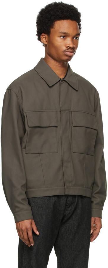 Thumbnail for your product : Ermenegildo Zegna Couture Beige Recycled Nylon Jacket