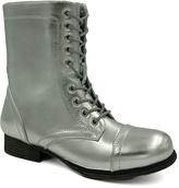 Bamboo Silver Surprise Lace-Up Boot
