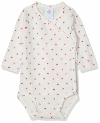 Sanetta Baby Girls' Wrapover Body 1/1 Allover Bodysuit