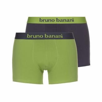 Bruno Banani Men's Short 2er Pack Flowing Boxer