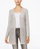 American Rag Open-Knit Lace-Up Cardigan, Only at Macy's