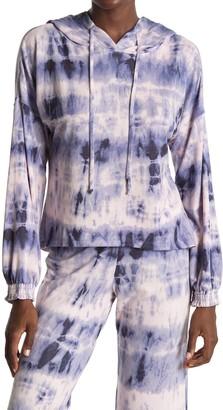 Midnight Bakery Tie Dye Drawstring Hoodie