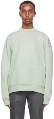 Jacquemus Green Le Sweat Carro Sweatshirt