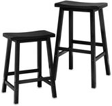 Bed Bath & Beyond Saddle Stool in Black