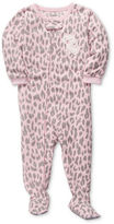Carter's Baby Pajamas, Baby Girls One-Piece Fleece Printed Coverall