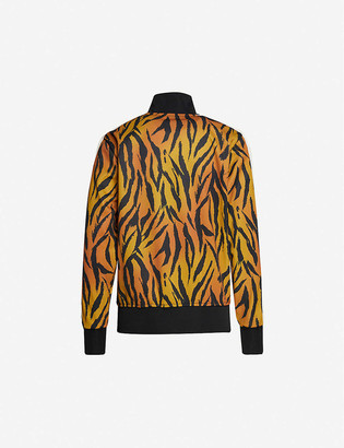 Palm Angels Tiger-print woven jacket