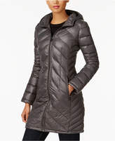 MICHAEL Michael Kors Chevron-Quilted Packable Down Coat, Created for Macy's