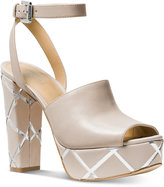 MICHAEL Michael Kors Trina Platform Dress Sandals