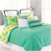 Nanette Lepore Cottage Fresh Comforter Set - Green - Queen