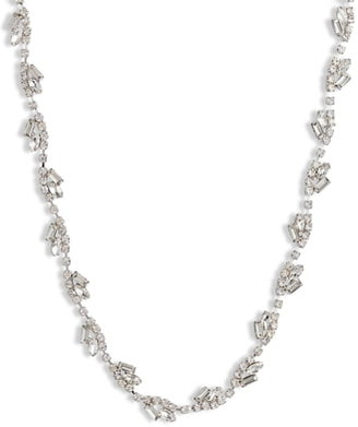 CRISTABELLE Fancy Stone Crystal Cluster Necklace