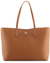 Tory Burch Perry Leather Tote Bag, Bark