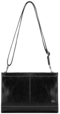 The Sak Iris Leather Crossbody Clutch