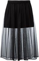 Givenchy pleated tulle skirt - women - Silk/Cotton/Polyester/Acetate - 36