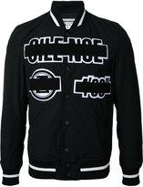 Anrealage Silence bomber jacket - men - Cotton/Nylon/Cupro - 46