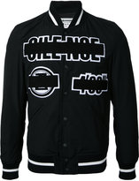 Anrealage Silence bomber jacket