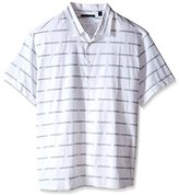 Perry Ellis Men's Big-Tall Spaced Out Stripe Shirt