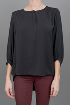 Rag & Bone Maharast Blouse Black