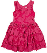 fiveloaves twofish Lace-Overlay Dress-PINK
