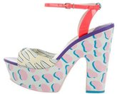 Sophia Webster Bobbi Tropical Platform Sandals w/ Tags