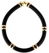 Lizzie Fortunato Leather Collar Necklacec