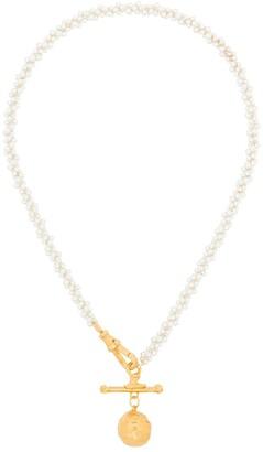 Alighieri Two-Tone Circular Pendant Necklace