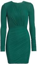 Herve Leger Ruched Mini Dress