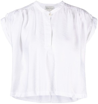 Forte Forte Pleated Cropped Blouse