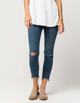 Free People Frayed Hem Womens Skinny Jeans