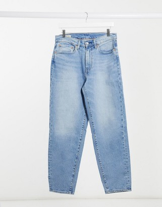 Levi's 562 loose tapered adjustable jeans in blue