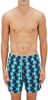 Vilebrequin Men's Geometric Fish-Print Swim Trunks