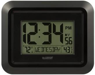 La Crosse Technology 513-1918B Atomic Digital Clock with Temperature