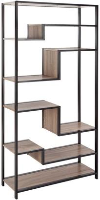 Safavieh Joanna Retro Mid Century Wood Etegere Shelf