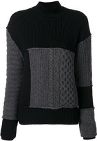 McQ cable mix jumper