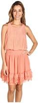 Jessica Simpson - Pleated Sleeveless Tank Dress